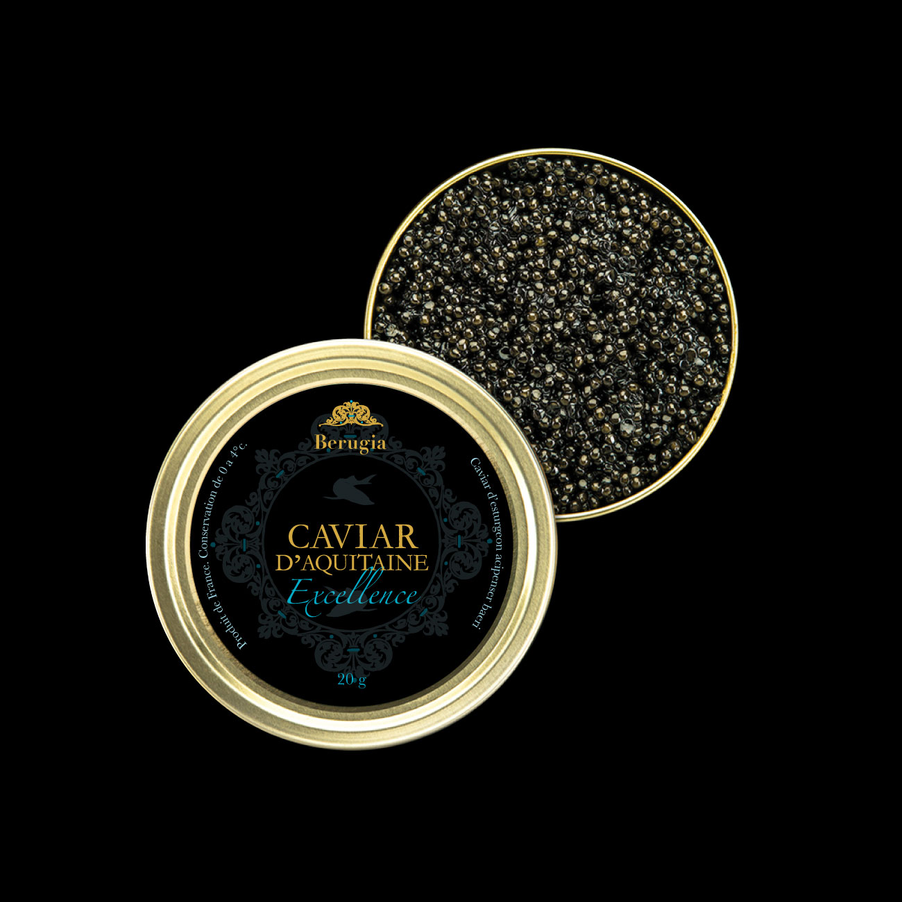 Aïtana Design, Caroline Viollier, graphisme, direction artistique, création graphique, design graphique, branding, Biarritz, Paris, studio de création, packaging, brand, branding, packaging caviar, boîte caviar, luxe, haut de gamme, gastronomie, excellence
