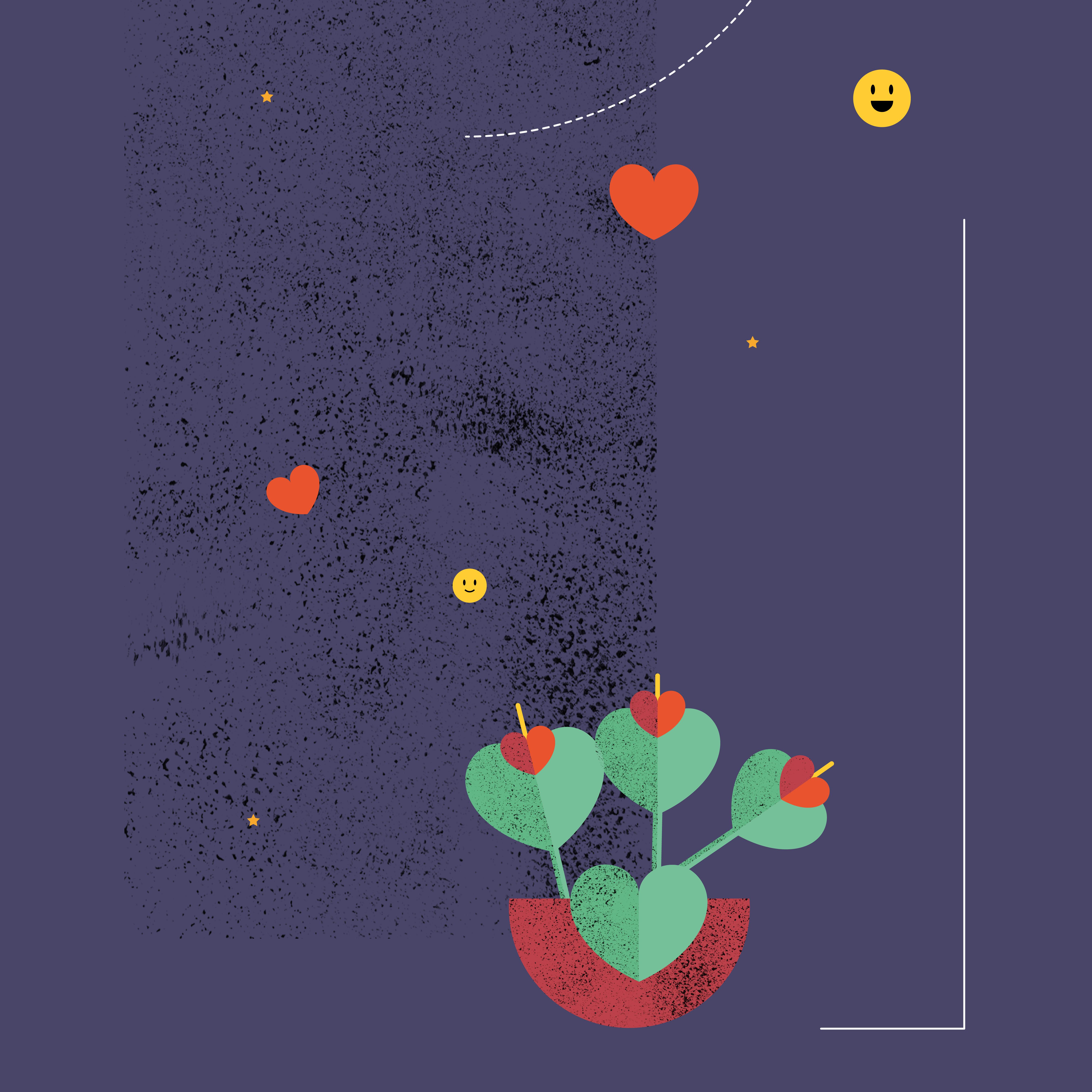 Illustration réalisée par Aïtana Design pour NewDeal, startup française situé à Biarritz